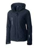 Women's Cutter & Buck WeatherTec Sanders Jacket Navy Blue Thumbnail