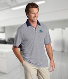 Cutter & Buck Men's DryTec Trevor Stripe Polo Shirt Thumbnail