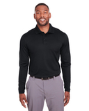 Under Armour Mens Corporate Long-Sleeve Performance Polo Black Thumbnail