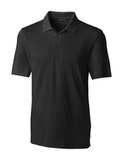 Cutter & Buck Men's Forge Polo Black Thumbnail