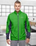Under Armour Men's Groove Hybrid Jacket Green Malachite Thumbnail