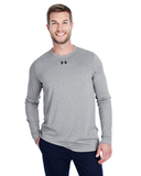 Under Armour Men's Long-Sleeve Locker Tee 2.0 True Gray Heather Thumbnail