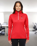 Women's Under Armour Qualifier 1/4 Zip Red Thumbnail