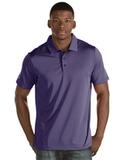 Antigua Quest Polo Shirt Dark Purple with White Thumbnail