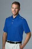 Greg Norman Play Dry Aerated Weatherknit Polo Shirt Cobalt Thumbnail