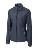 Women's Cutter & Buck WeatherTec Beacon Full Zip Jacket Onyx Thumbnail