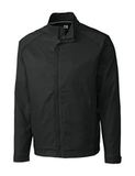 Men's Cutter & Buck WeatherTec Big & Tall Blakely Full Zip Black Thumbnail