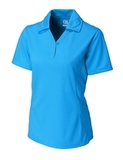 Women's Cutter & Buck DryTec Extended Sizes Genre Polo Shirt Seaport Thumbnail