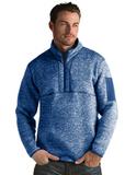 Antigua Men's Fortune Sweater-Knit Half-Zip Dark Royal Thumbnail