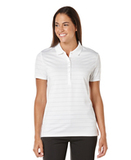 Women's Callaway Opti-vent Knit Polo Shirt Bright White Thumbnail