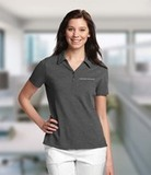 Women's Cutter & Buck DryTec Extended Sizes Championship Polo Shirt Charcoal Thumbnail