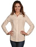 Women's Dynasty Dress Shirt Vanilla Thumbnail