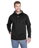 Under Armour Men's Double Threat Armour Fleece Hoodie Black Thumbnail