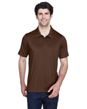 Men's Charger Performance Polo Sport Dark Brown Thumbnail