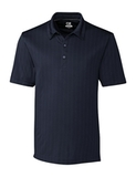 Cutter & Buck Men's DryTec Hamden Jacquard Polo Shirt Liberty Navy Thumbnail