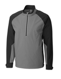 Men's Cutter & Buck WeatherTec Summit Half Zip Gravel Thumbnail