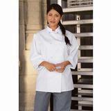 White Economy Chef Coat Thumbnail
