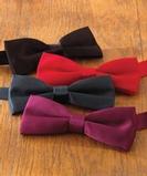 Wing Tuxedo Bow Tie Black Thumbnail