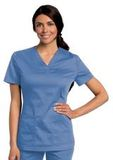Women's All Day Y-Neck Scrub Tunic Ceil (BCMST) Thumbnail