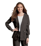 Women's Cardigan Warm-up Black Thumbnail