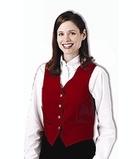 Women's Economy Vest Navy Thumbnail