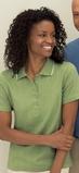 Women's Edry Needle Out Interlock Polo Shirt Thumbnail