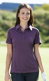 Women's Fluid E-performance Melange Polo Thumbnail