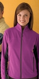 Women's Full Zip Microfleece Jacket with MP3 Pocket Thumbnail