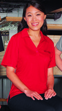 Women's Industrial Performance Knit Polo Shirt Red Thumbnail