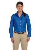 Women's Long-sleeve Oxford With Stain-release Thumbnail