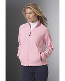 Women's Microfleece Unlined Jacket Powder Pink Thumbnail