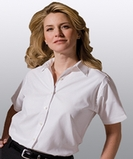 Women's Pinpoint Oxford Shirt White Thumbnail