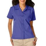 Women's Poplin Camp Shirt French Blue Thumbnail