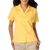Women's Poplin Camp Shirt Maize Thumbnail