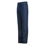 Women's Pre-washed Denim Safety Jean With CAT 2 Protection Blue Denim Thumbnail