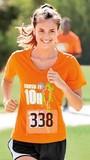 Women's Racermesh V-neck Tee Thumbnail