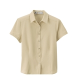 Women's s Poly Stretch Woven Shirt Sand Dune Thumbnail