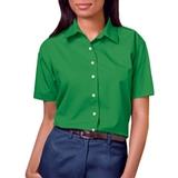Women's Short Sleeve Easy Care Poplin Shirt Kelly Thumbnail