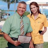 Women's Short Sleeve Easy Care Poplin Shirt Thumbnail
