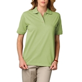 Women's Short Sleeve Pique Polo Shirt Cactus Thumbnail