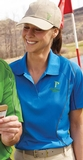 Women's Snag Protection Color-block Polo With Piping Thumbnail