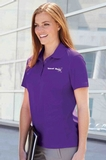 Women's Snag Protection Solid Polo Thumbnail