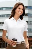 Women's Stain-resistant Polo Shirt Thumbnail
