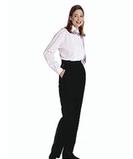 Women's Tuxedo Pant Black Thumbnail