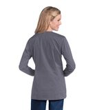 Women's Uflex Crewneck Warm-Up STEEL GREY (STP) Thumbnail