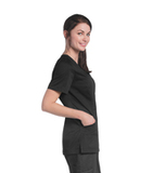 Women's Uflex V-Neck Tunic BLACK (BKP) Thumbnail