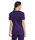Women's Uflex V-Neck Tunic Grape (RPMST) Thumbnail