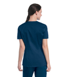 Women's Uflex V-Neck Tunic Navy Thumbnail