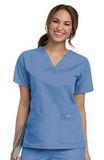 Women's V-neck Scrub Top Ceil Blue (BCP) Thumbnail
