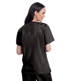Women's V-Neck Tunic Black (BKMST) Thumbnail